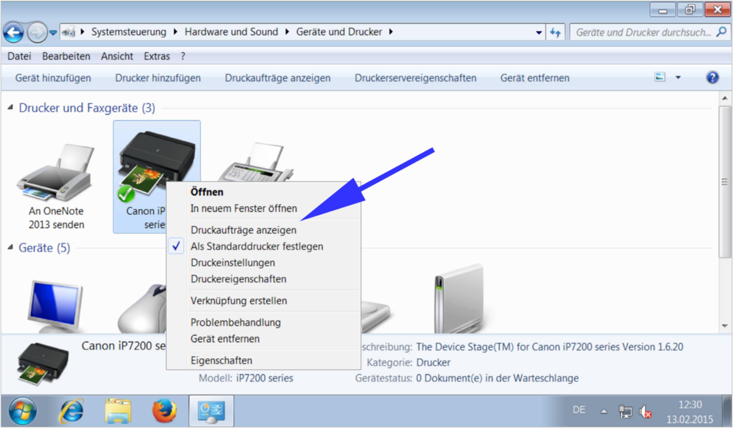 computer am desktop anzeigen